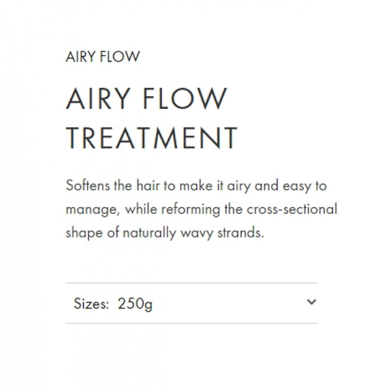 Original Shiseido Professional Sublimic Airy Flow Treatment 250g