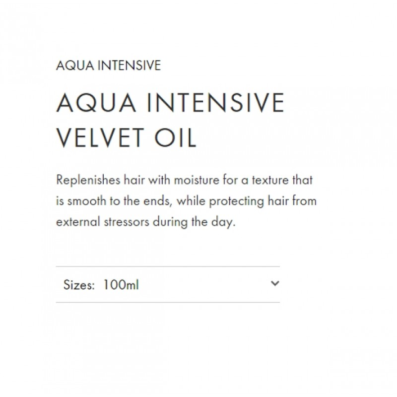 Original Shiseido Professional Sublimic Aqua Intensive Velvet Oil 100ml
