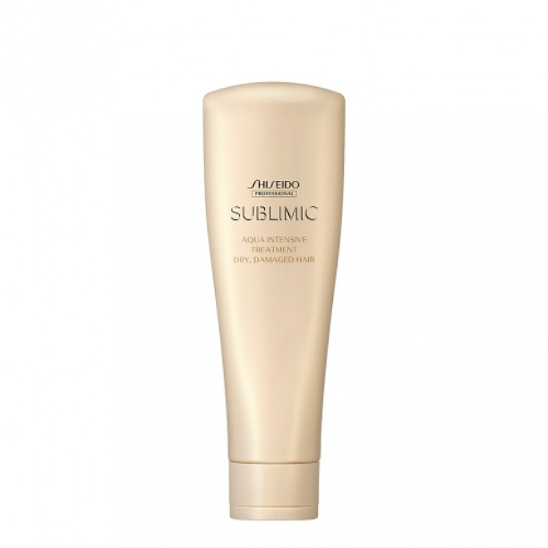 Original Shiseido Professional Sublimic Aqua Intensive Treatment (Dry, Damaged Hair) 250g