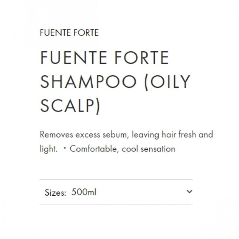Original Shiseido Professional Sublimic Fuente Forte Shampoo (Oily Scalp) 500ml