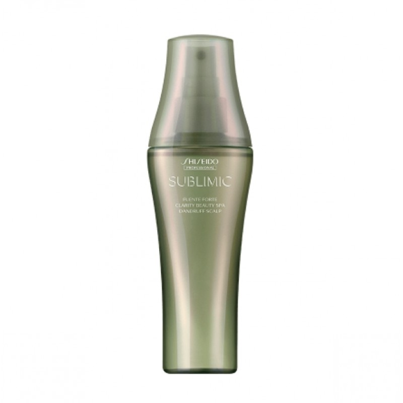 Original Shiseido Professional Sublimic Fuente Forte Clarity Beauty Spa 125ml