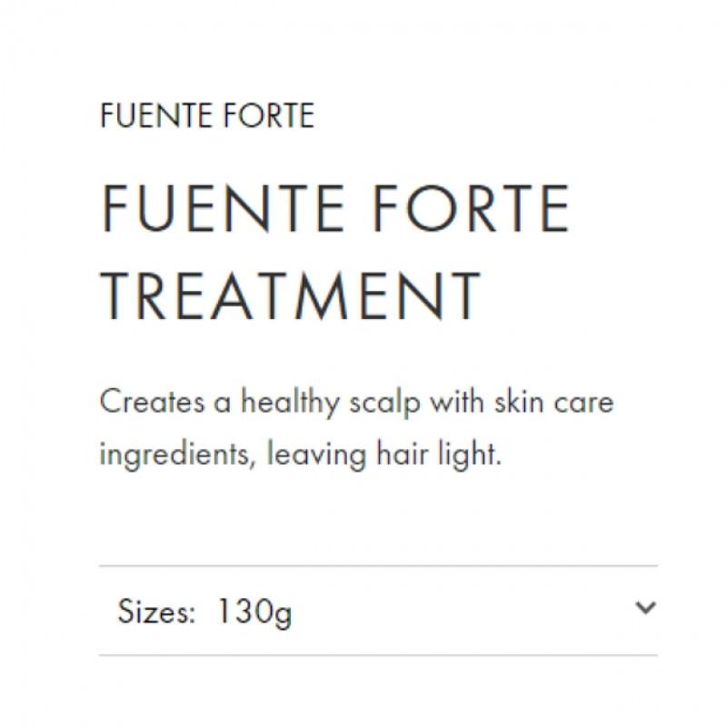 Original Shiseido Professional Sublimic Fuente Forte Treatment 130g