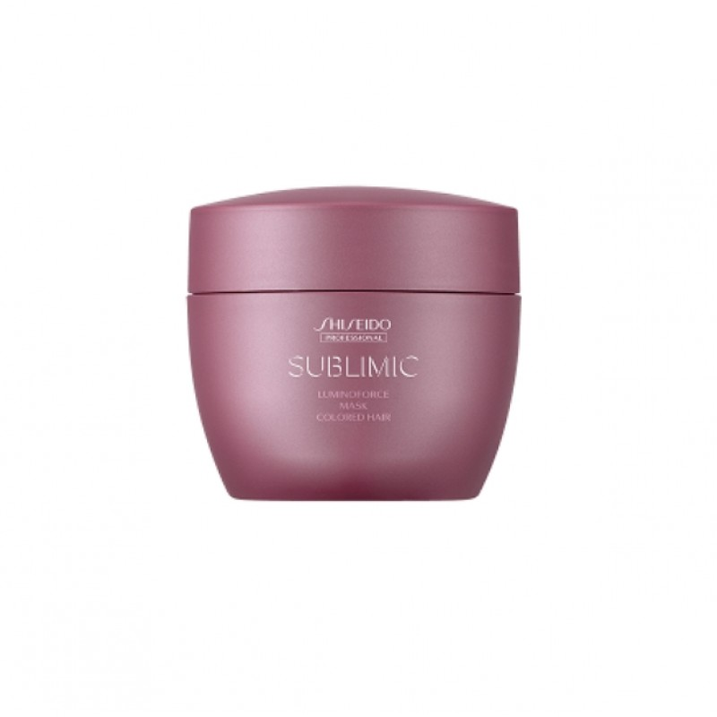 Original Shiseido Professional Sublimic Luminoforce Mask 200g