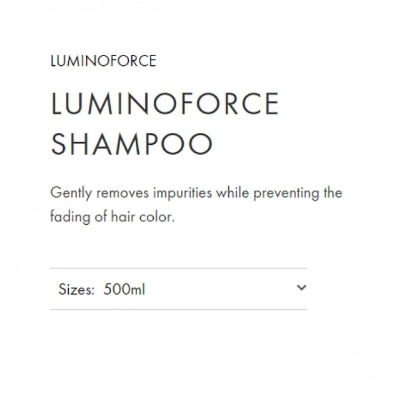 Original Shiseido Professional Sublimic Luminoforce Shampoo 500ml