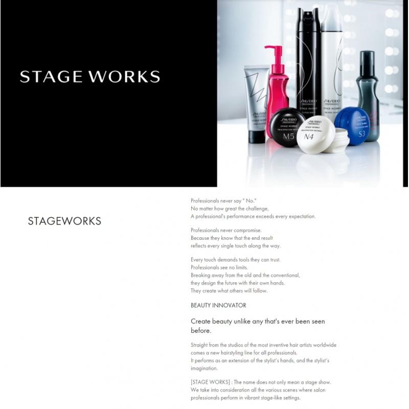 Original Shiseido Professional Stageworks Fluffy Curl Mist 150ML