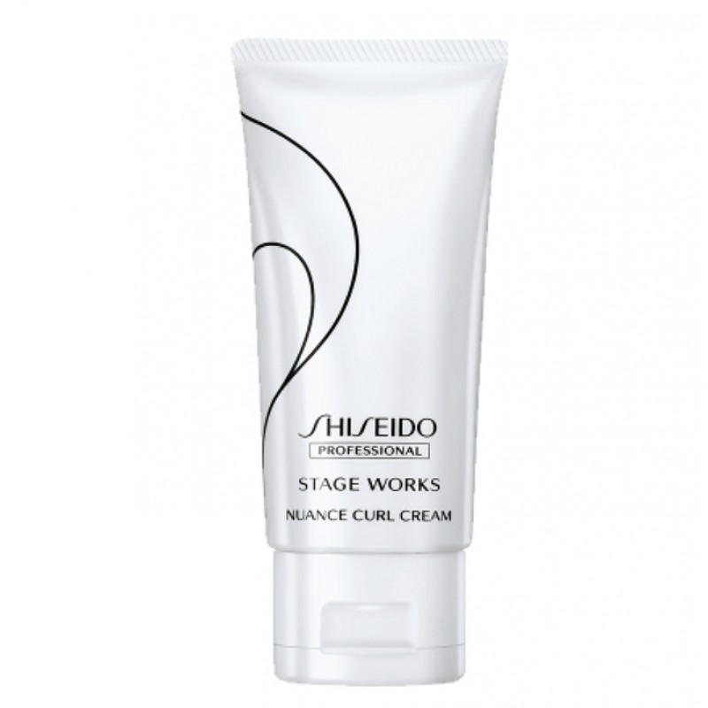 Original Shiseido Professional Stageworks  Nuance Curl Cream 75G Fragrant Scent Creating Waves Soft Supple Ends