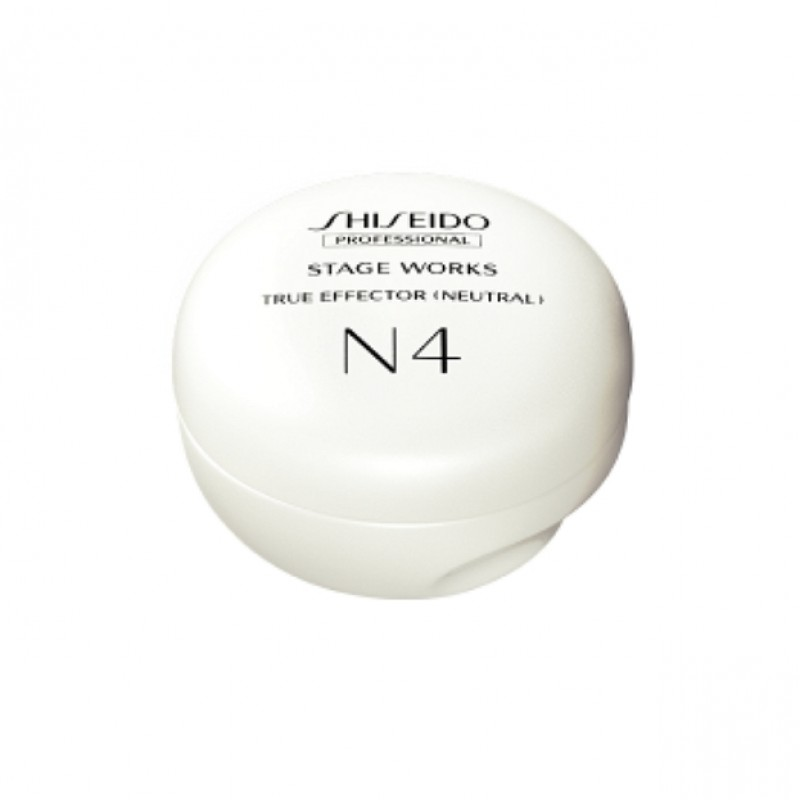 Original Shiseido Professional Stageworks True Effector Neutral 80G N4 Natural healthy shine Strong styling power