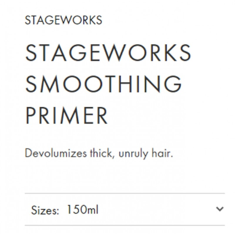 Original Shiseido Professional Stageworks Smoothing Primer 150ML