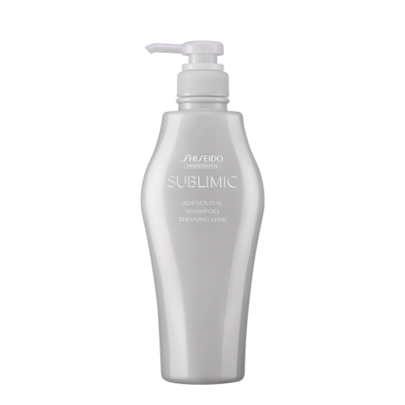 Original Shiseido Professional Sublimic Adenovital Shampoo 500ML