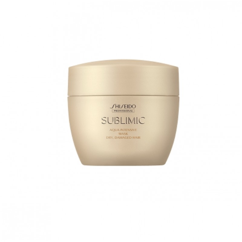 Original Shiseido Professional Sublimic Aqua Intensive Mask (Dry, Damaged Hair) 200g