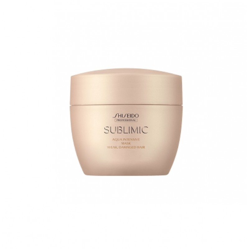 Original Shiseido Professional Sublimic Aqua Intensive Mask (Weak, Damaged Hair) 200g